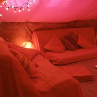 Tente rouge © GC