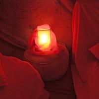Tente rouge Lumière © GC