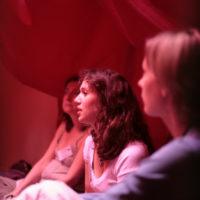 Tente rouge © Daniela Brzeski