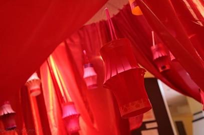 Mes premières tentes rouges