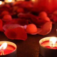 Tentes rouges © Coralie Escrich