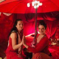 Tente rouge Albertville