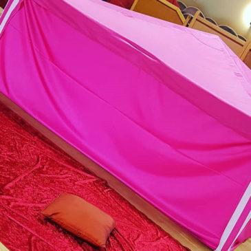 «Merci pour la tente rose»