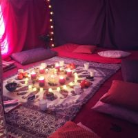 Tente rouge Bidart