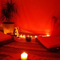 Tente rouge Bischheim