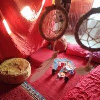 Tente Rouge Meyrargues Malaucène