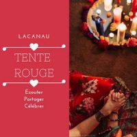 Tente rouge Lacanau