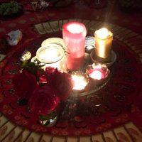 Tente rouge Nancy Tantoville