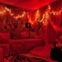 Tente rouge Massongy Thonon