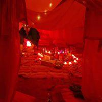 Tente rouge Reynès