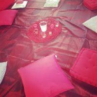 Tente rouge Zoli Vienne