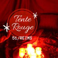 Tente rouge Reims