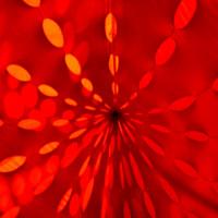 Tente rouge mois de juillet